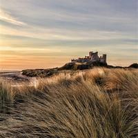 Buy canvas prints of Bamburgh Castle by Northeast Images Daniel Dent