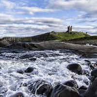 Buy canvas prints of Dunstanburgh Castle by Northeast Images Daniel Dent