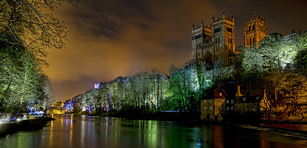 Durham Lumiere Panoramic Print by Northeast Images Daniel Dent