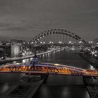 Buy canvas prints of Newcastle Quayside by Northeast Images Daniel Dent