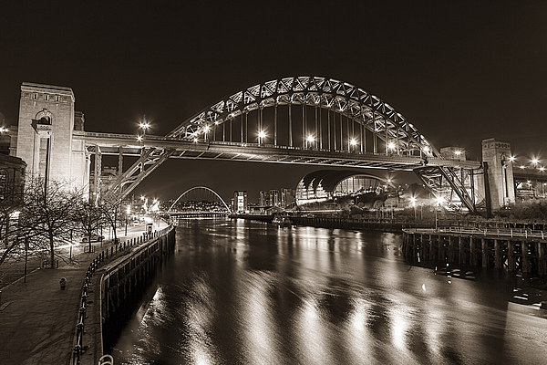 Newcastle Quayside Canvas print by Northeast Images