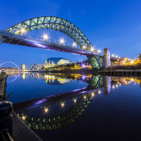 Buy canvas prints of  Newcastle Quayside by Northeast Images