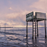 Buy canvas prints of Pilgrims Way - Holy Island by Northeast Images