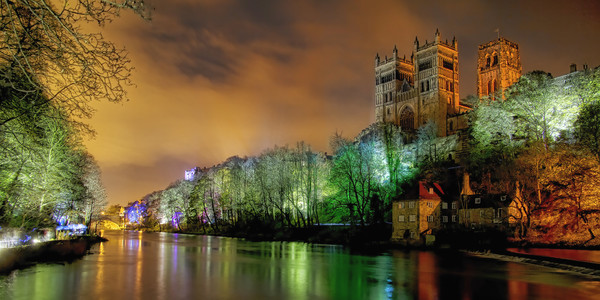 Durham Lumiere Canvas print by Northeast Images
