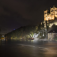 Buy canvas prints of Durham Lumiere by Northeast Images