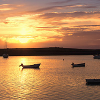 Buy canvas prints of Lindisfarne Sunrise by Northeast Images