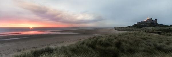 Bamburgh Sunrise Framed Print by Northeast Images