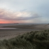 Buy canvas prints of Bamburgh Sunrise by Northeast Images