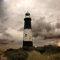 Buy canvas prints of The Old Lighthouse - Spurn Point by Trevor Kersley