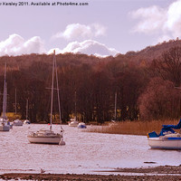 Buy canvas prints of Lake Windermere Boats by Trevor Kersley