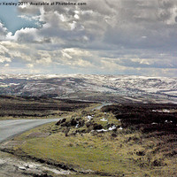 Buy canvas prints of North Yorks Moors in Winter by Trevor Kersley