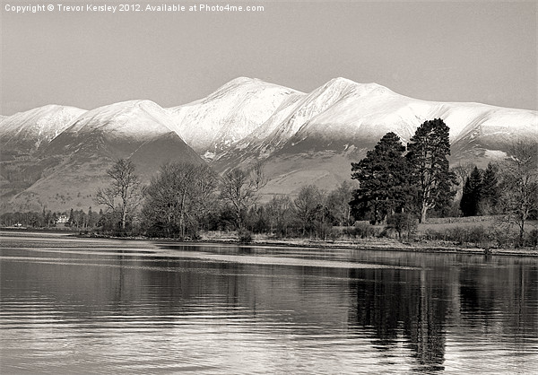 Derwentwater Canvas Print by Trevor Kersley