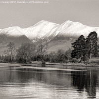 Buy canvas prints of Derwentwater by Trevor Kersley