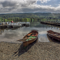Buy canvas prints of Coniston Water Lake District by Trevor Kersley