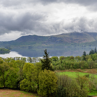 Buy canvas prints of Derwentwater Lake District by Trevor Kersley