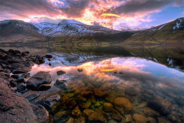 Wastwater Reflections Canvas print by Jason Connolly