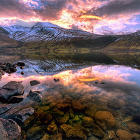 Buy canvas prints of Wastwater Reflections by Jason Connolly
