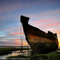 Buy canvas prints of Sunrise At Fleetwood marsh by Jason Connolly