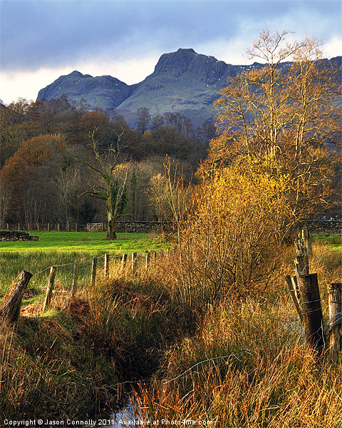 Langdale Views Canvas print by Jason Connolly