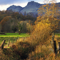 Buy canvas prints of Langdale Views by Jason Connolly