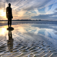 Buy canvas prints of Another Place, Crosby by Jason Connolly