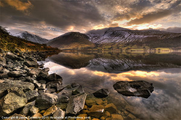 Wast Water, Lake District Framed Print by Jason Connolly