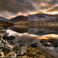 Buy canvas prints of Wast Water, Lake District by Jason Connolly