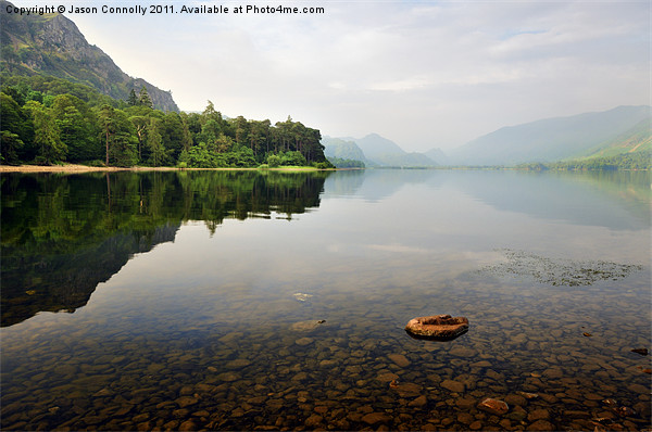 Derwentwater, Cumbria Canvas Print by Jason Connolly