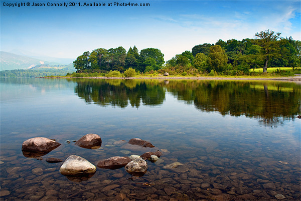 Derwentwater Canvas Print by Jason Connolly