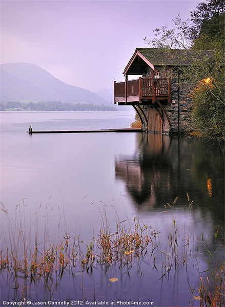 Lakeside Boathouse, Ullswater Canvas print by Jason Connolly