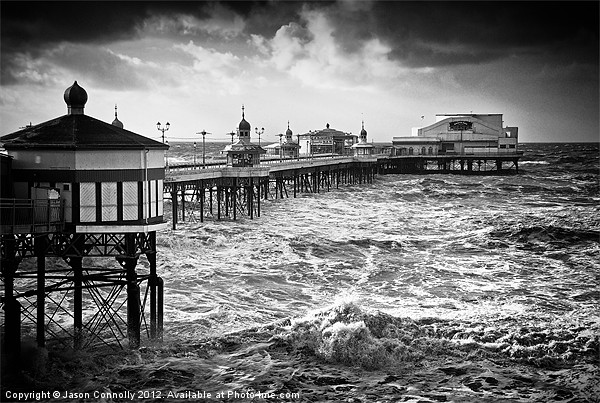 The North Pier, Blackpool Canvas print by Jason Connolly