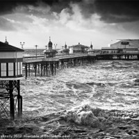 Buy canvas prints of The North Pier, Blackpool by Jason Connolly