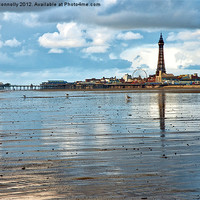 Buy canvas prints of Blackpool by Jason Connolly