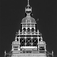 Buy canvas prints of The Tower Top by Jason Connolly