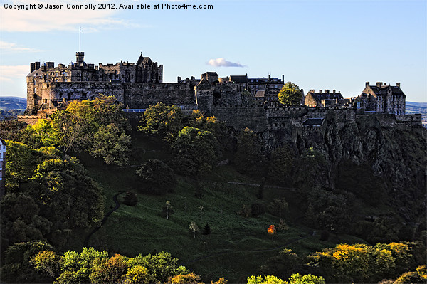 Edinburgh Castle Canvas Print by Jason Connolly