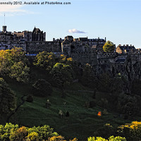 Buy canvas prints of Edinburgh Castle by Jason Connolly