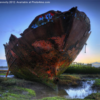 Buy canvas prints of Carcasses At Sunrise by Jason Connolly