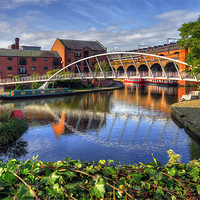 Buy canvas prints of Castlefield, Manchester by Jason Connolly