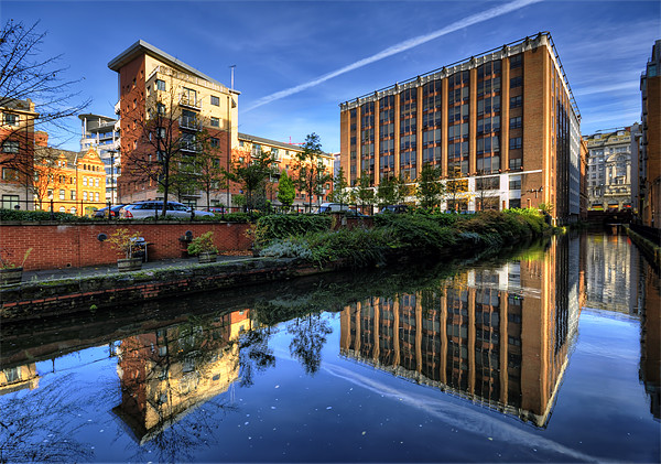 Rochdale Canal, manchester Canvas print by Jason Connolly