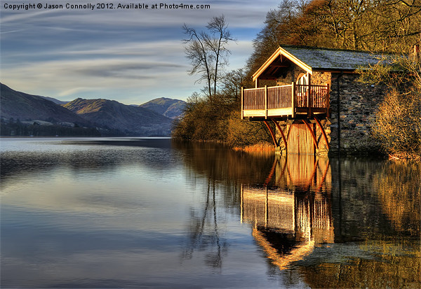 Ullswater Boathouse Canvas print by Jason Connolly