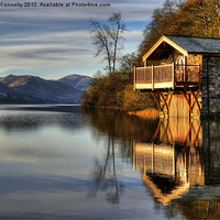 Buy canvas prints of Ullswater Boathouse by Jason Connolly