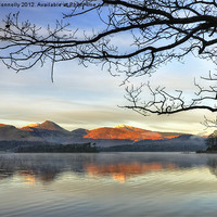 Buy canvas prints of Derwentwater,Cumbria by Jason Connolly