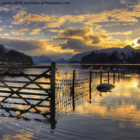 Buy canvas prints of Derwentwater Dreams by Jason Connolly