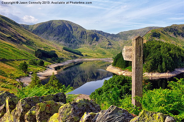 Haweswater, Cumbria Canvas print by Jason Connolly