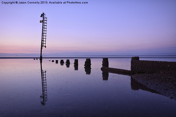 Last Light At Fleetwood Canvas print by Jason Connolly