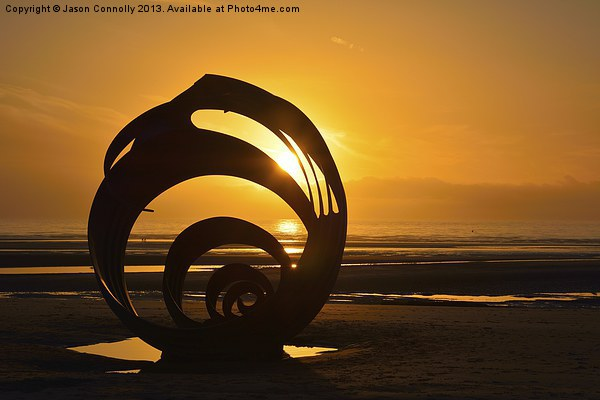 Marys Shell, Cleveleys Canvas print by Jason Connolly