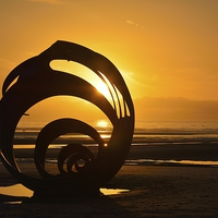 Buy canvas prints of Marys Shell, Cleveleys by Jason Connolly