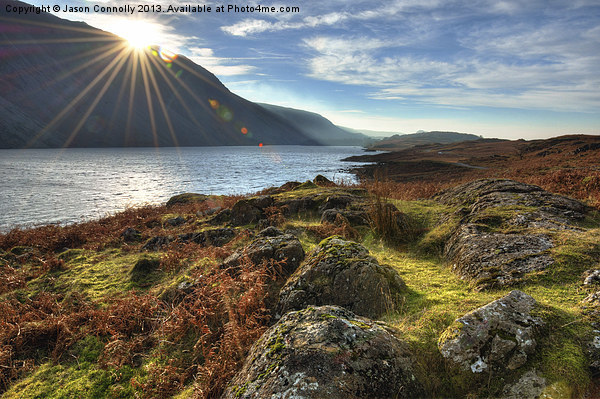 Wastwater Canvas print by Jason Connolly