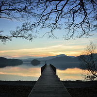 Buy canvas prints of Coniston Dusk by Jason Connolly