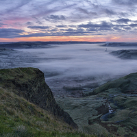Buy canvas prints of  Hope Valley At Sunrise by Jason Connolly